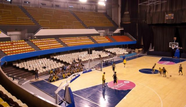 El Palacio del básquetbol