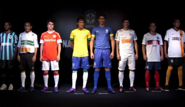 Nike Brasil presentó sus uniformes de fútbol