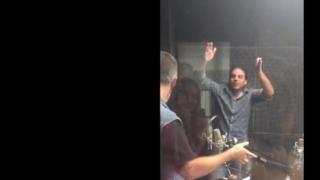 La reacción del Piñe cuando se enteró del engaño de Sara - Backstage - DelSol 99.5 FM