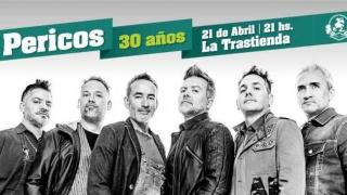 Los Pericos festejan sus 30 años - Audios - 2 - DelSol 99.5 FM