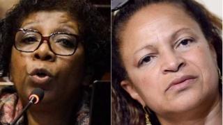La guerra de vedettes entre Susana Andrade y Gloria Rodríguez - Columna de Darwin - 1 - DelSol 99.5 FM