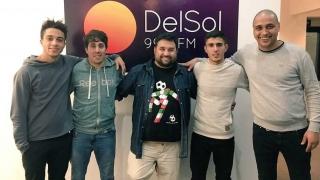 Senda 7 y el tema de Locos por el Fútbol - Audios - 7 - DelSol 99.5 FM