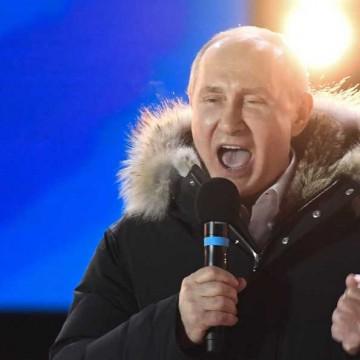 Darwin festejó el triunfo de Putin y el regreso de la carrera espacial