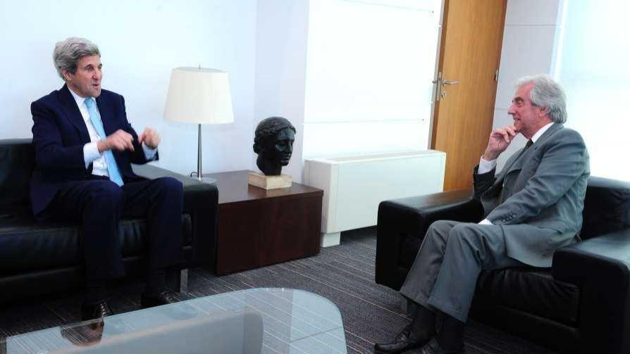 La visita de Kerry y el 50% de quita que pide Sanabria - Columna de Darwin - No Toquen Nada | DelSol 99.5 FM