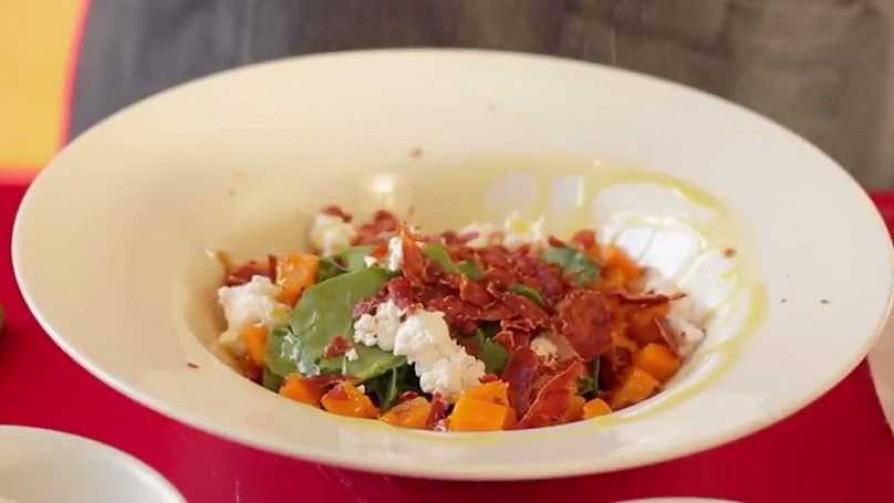 En la cocina de Martín Schwedt: ensalada de calabaza - Gourmet - Videos | DelSol 99.5 FM
