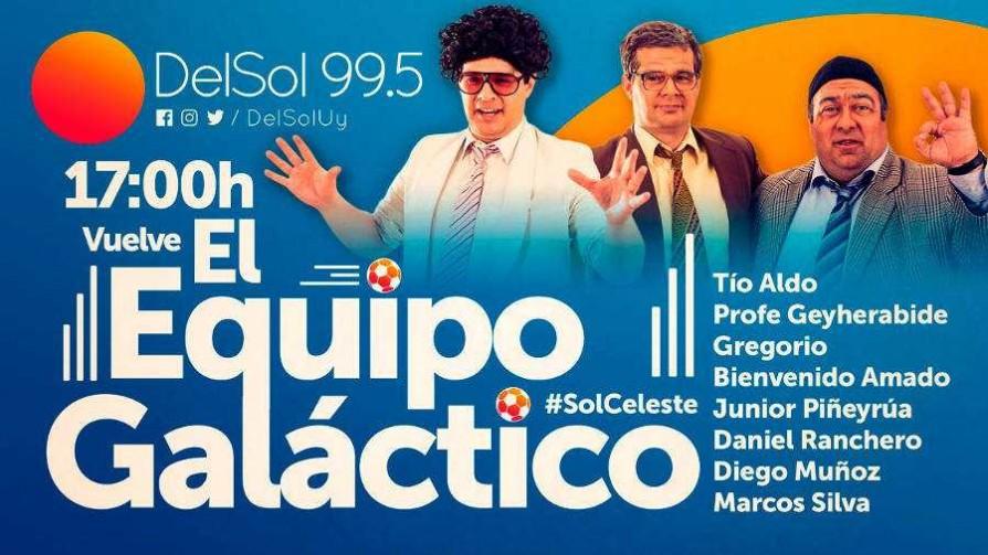 La previa de Uruguay - Argentina con el Equipo Galáctico  - Especiales - Nosotros | DelSol 99.5 FM