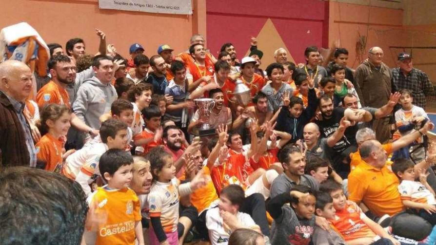 Campeonato Uruguayo de Futsal: Jave gritó campeón - Deporgol - La Mesa de los Galanes   DelSol 99.5 FM