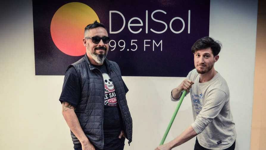 Pintaba para goleada pero terminó ajustada - La batalla de los DJ - La Mesa de los Galanes   DelSol 99.5 FM