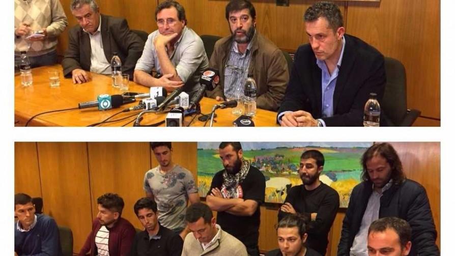 El conflicto entre la Mutual y el Colectivo MUQN llegó al Parlamento - Informes - Fútbol & Compañía | DelSol 99.5 FM