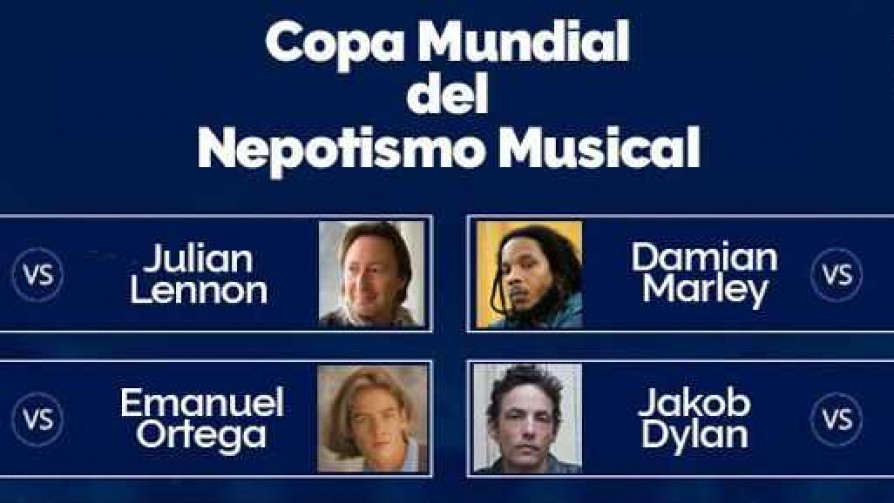 Copa Mundial del Nepotismo Musical: Cuartos de Final  - Versus - Facil Desviarse | DelSol 99.5 FM