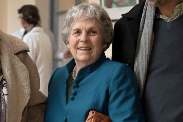 María Auxiliadora Delgado en el homenaje a Ida Vitale || Una de las últimas apariciones pública de la esposa de Tabaré Vázquez antes de su fallecimiento. || Ricardo Antúnez / adhocFOTOS
