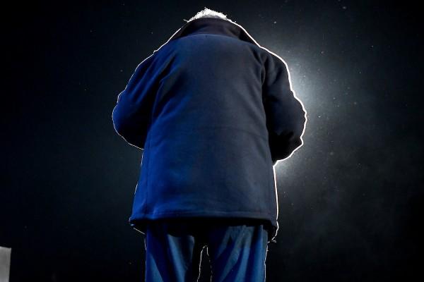 José Mujica en el acto de cierre de campaña del MPP, Espacio 609, en Plaza 1 de Mayo de Montevideo. || Javier Calvelo / adhocFOTOS