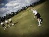 Equipo de una consultora internacional en un torneo de golf femenino || ©Federico Estol