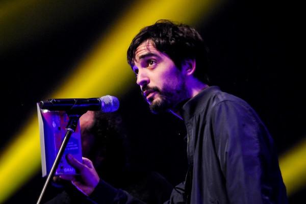 Gonzalo Deniz y Diego Presa, parte de El Astillero, ganadores como compositores y tema del año || Adhoc ©Javier Calvelo
