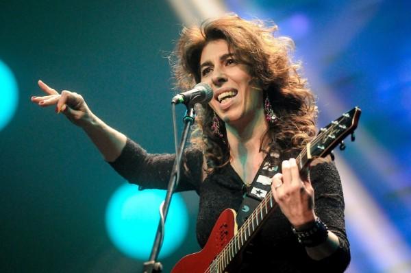 Rossana Taddei actuó en la ceremonia    Adhoc ©Javier Calvelo