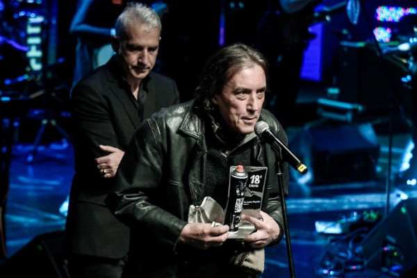 Buitres ganó como album de rock, banda y album del año