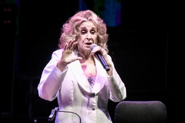 El show de Olga Delgrossi.