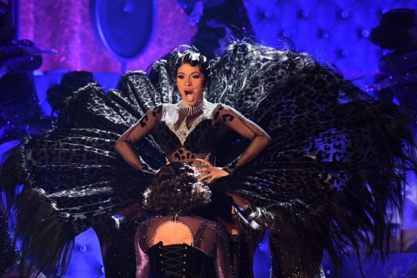 Cardi B ganó como mejor album de rap (AFP)