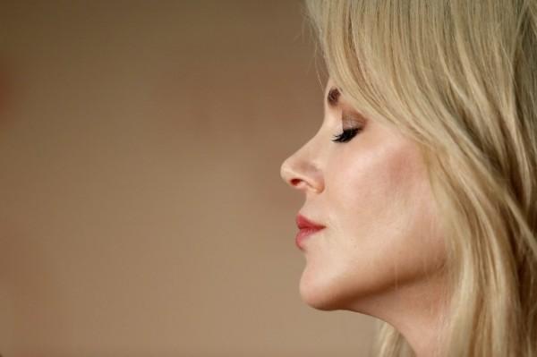 Nicole Kidman durante una conferencia de prensa en el Festival de Cannes || AFP