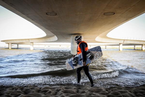Puente de la Laguna Garzón, Maldonado. || Javier Calvelo