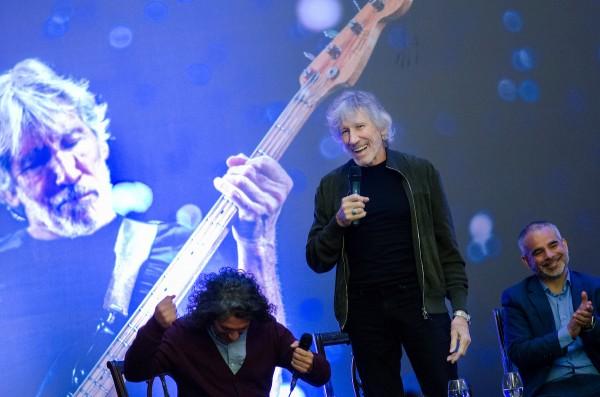 Roger Waters fue declarado Ciudadano Ilustre de la ciudad de Montevideo. || Pablo Vignali