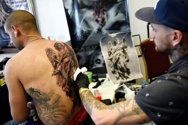 Convencion de tatuadores Tattooarte V en Kibon || Nicolás Celaya