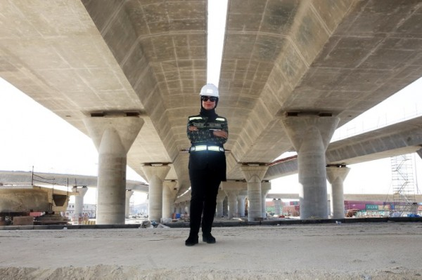 KUWAIT - Mai Ibrahim Al-Mesad, líder de proyecto || AFP