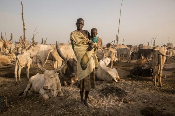 SUDÁN DEL SUR - Mary Amer, pastor de ganado || AFP