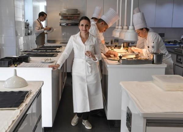 FRANCIA - Anne-Sophie Pic, una de las pocas cocineras con tres estrellas Michelin en el mundo || AFP