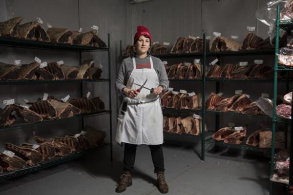 ESTADOS UNIDOS - Heather Marold Thomason, carnicera || AFP