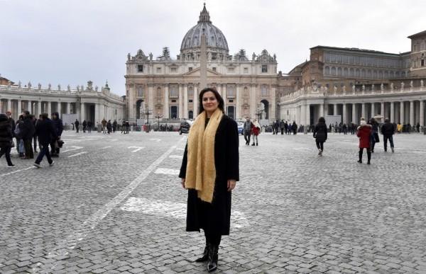 VATICANO - Paloma García, prensa en la Santa Sede || AFP
