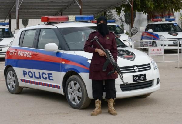PAKISTAN - Zahida, policía || AFP