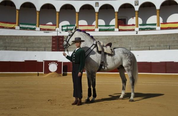 SPAIN - Lea Vincens, rejoneadora    AFP