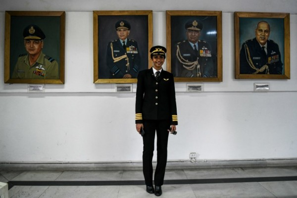 INDIA - Anny Divya, piloto || AFP