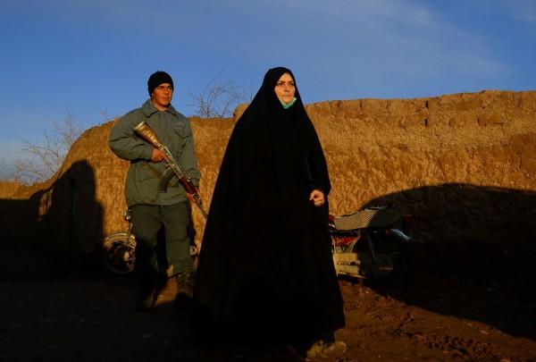 AFGHANISTÁN - Marzia Amiri, policía || AFP
