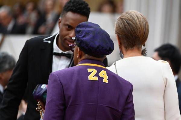 Spike Lee y su homenaje a Kobe Bryant || AFP