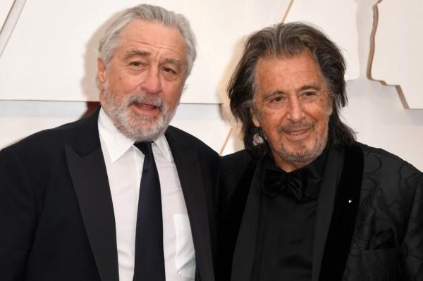 Robert De Niro y Al Pacino || AFP