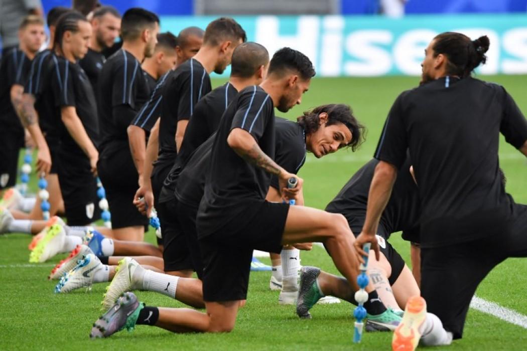 Uruguay entrenó en Samara pensando en Rusia — Galerias | Del Sol 99.5 en el Mundial Rusia 2018