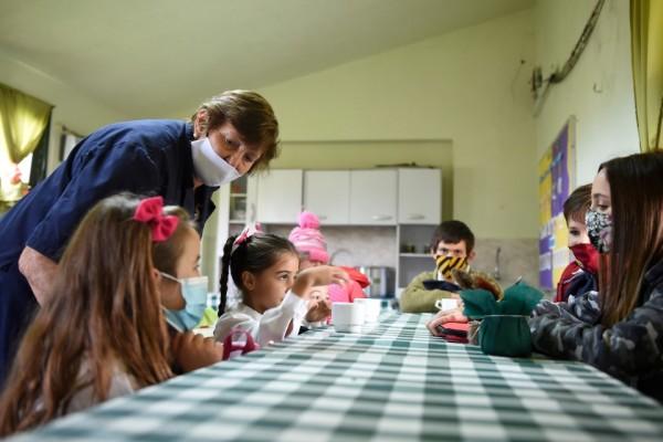 Vuelta a clases en la escuela rural Nro. 41 de Migues en Canelones (Daniel Rodriguez /adhocFOTOS)