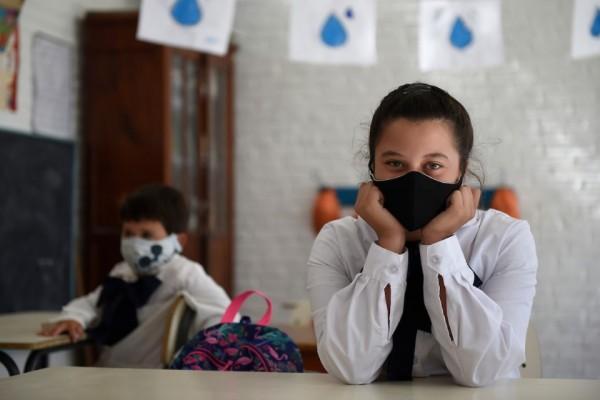Vuelta a clases en la escuela rural Nro. 58 de Aguas Blancas en Lavalleja (Daniel Rodriguez /adhocFOTOS)