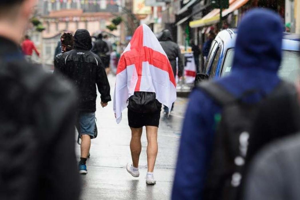 Policía británica pide prudencia con la bandera a los hinchas en el Mundial  — 180 | Del Sol 99.5 en el Mundial Rusia 2018
