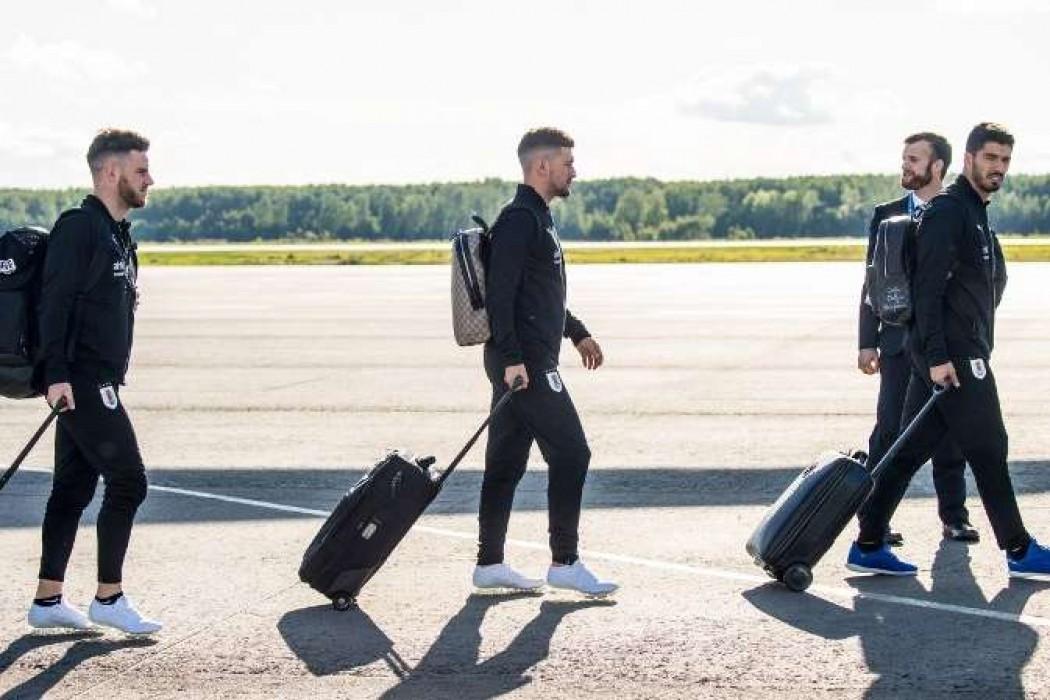 Las imágenes de la llegada de Uruguay a Nizhny — 180   Del Sol 99.5 en el Mundial Rusia 2018