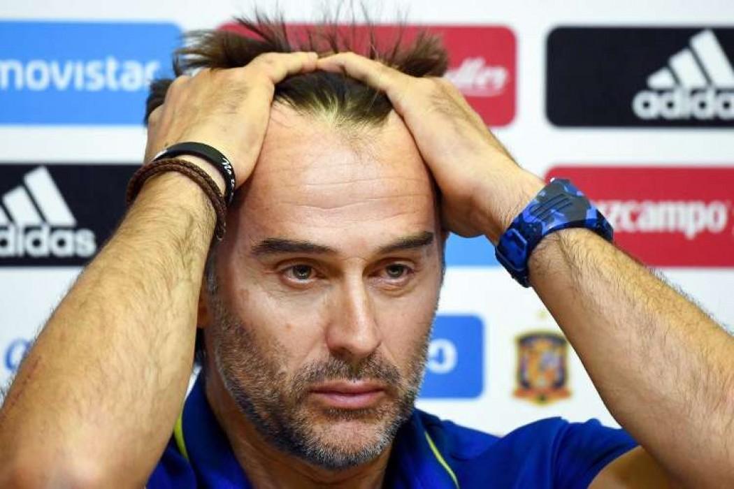 España cesa a su técnico a dos días de su debut en Rusia — 180 | Del Sol 99.5 en el Mundial Rusia 2018