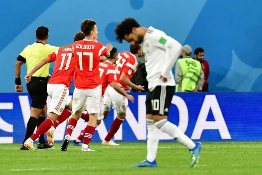 Rusia le ganó a Egipto y quedó muy cerca de los octavos de final — Noticias | Del Sol 99.5 en el Mundial Rusia 2018