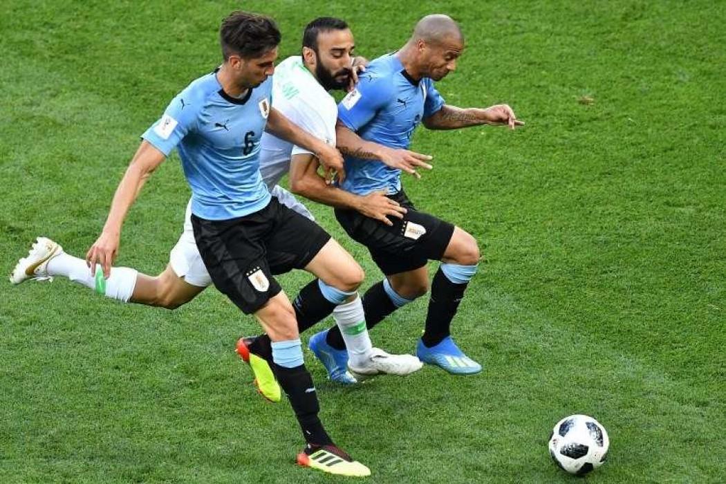 Los números de los uruguayos en el triunfo ante Arabia — Noticias | Del Sol 99.5 en el Mundial Rusia 2018