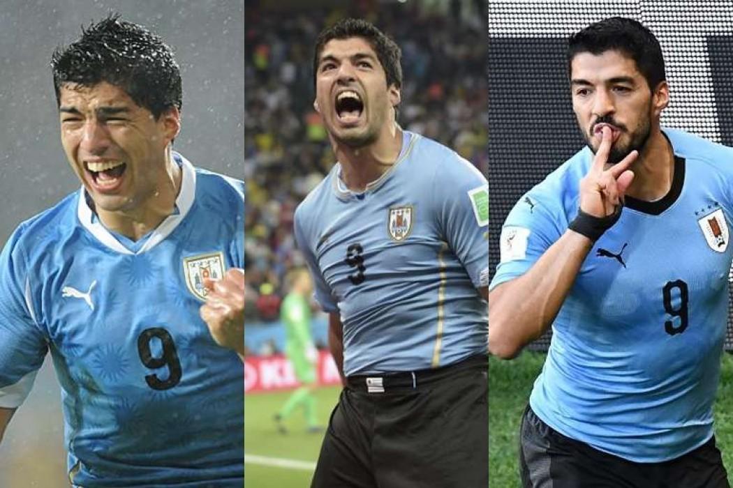 Suárez es el primer uruguayo en anotar en tres mundiales — Noticias | Del Sol 99.5 en el Mundial Rusia 2018