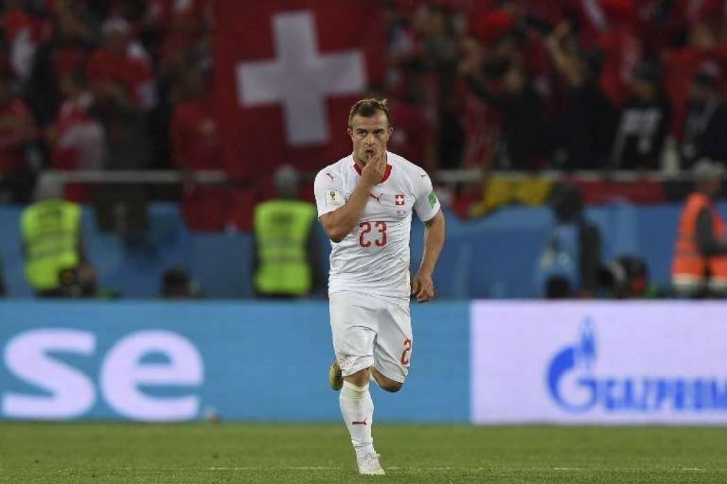 Suiza lo dio vuelta sobre la hora contra Serbia — Noticias | Del Sol 99.5 en el Mundial Rusia 2018