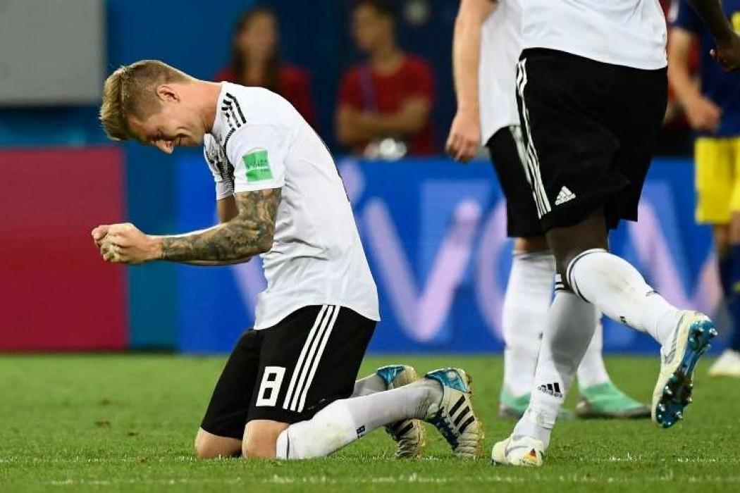 Toni Kroos mantiene con vida a Alemania que le gana a Suecia 2-1 en el descuento — Noticias | Del Sol 99.5 en el Mundial Rusia 2018