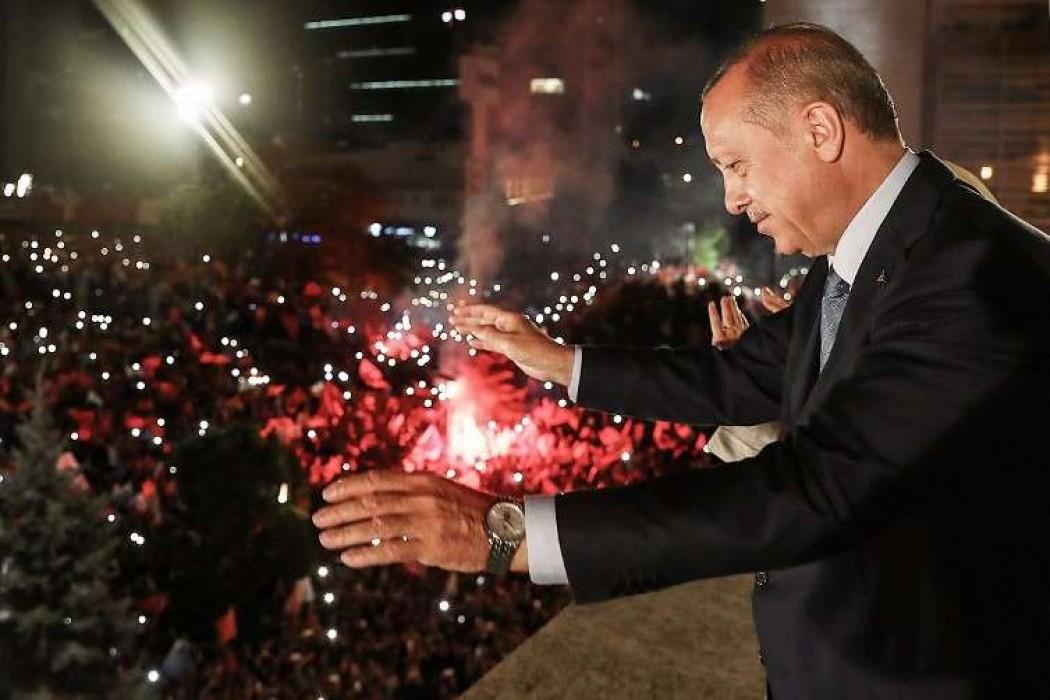 Erdogan reelegido en Turquía para un mandato con poderes reforzados — 180.com.uy | Del Sol 99.5 en el Mundial Rusia 2018