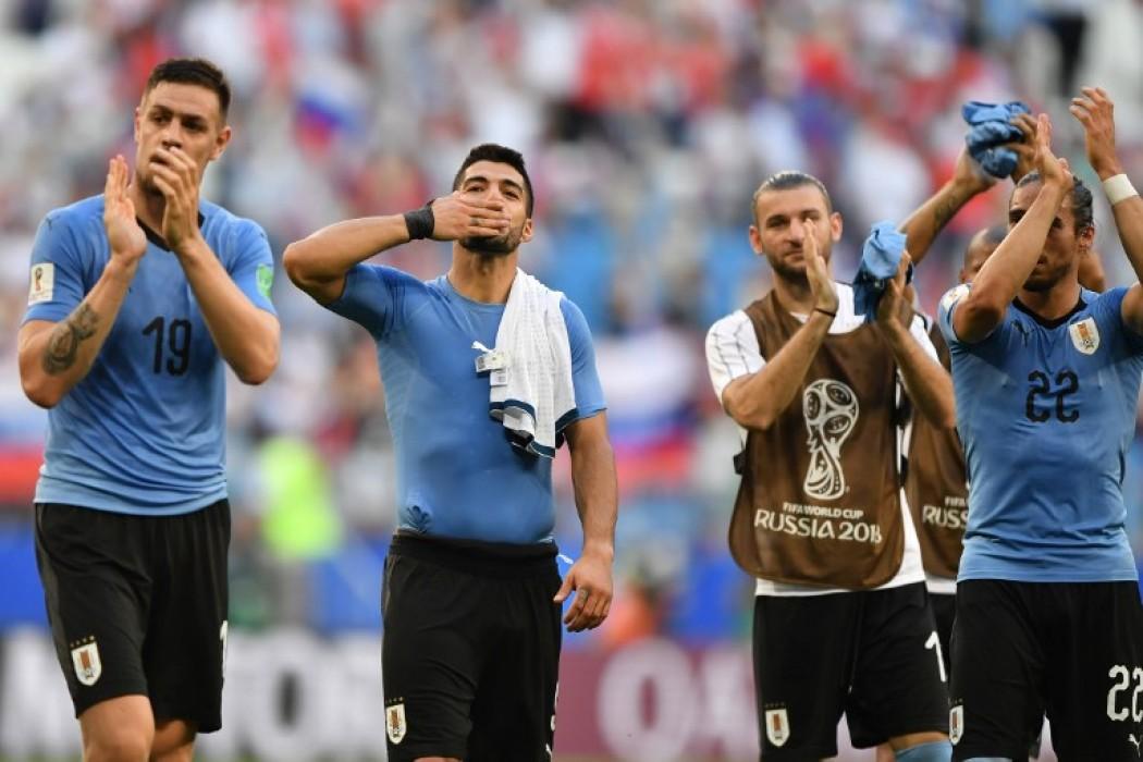 Uruguay es la selección que más le gana a los anfitriones — Noticias | Del Sol 99.5 en el Mundial Rusia 2018